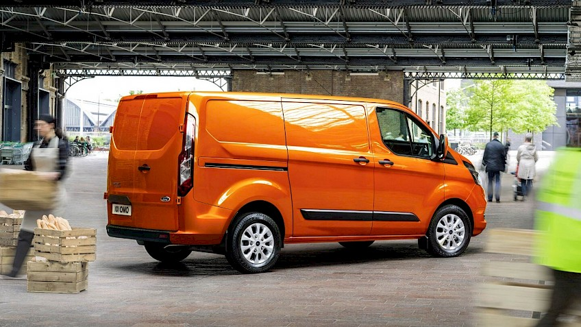 Neuer FORD Transit Custom Plug-In Hybrid